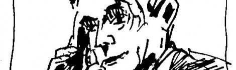 Zeichnung Rudolf Steiner